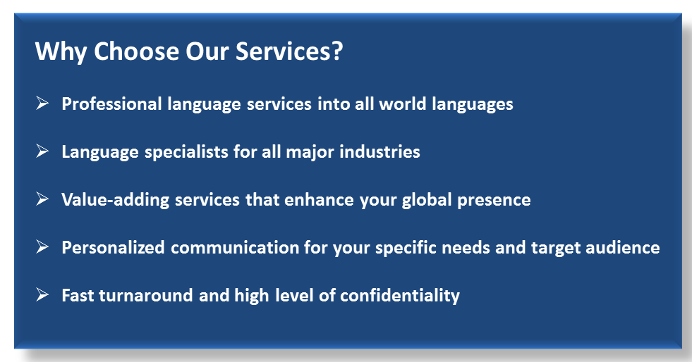 Why Choose Our Services